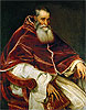 Titian - Pope Paul III (Portrait of Alessandro Farnese) - Art Print / Posters