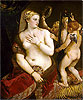Titian - Venus with a Mirror - Art Print / Posters