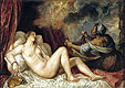 Titian - Danae receiving the Golden Rain - Art Print / Posters