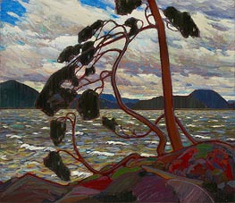 Tom Thomson | The West Wind, c.1916/17 | Giclée Canvas Print
