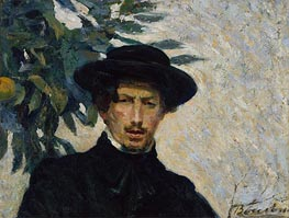 Self-Portrait, 1905 by Umberto Boccioni | Giclée Canvas Print