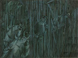 Umberto Boccioni | States of Mind III: Those Who Stay, 1911 | Giclée Canvas Print