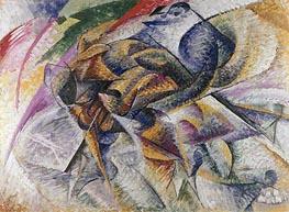 Umberto Boccioni | Dynamism of a Cyclist, 1913 | Giclée Canvas Print