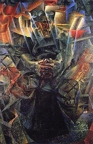 Matter, 1912 | Umberto Boccioni | Painting Reproduction