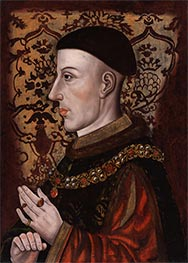 King Henry V, 16th c by Unknown Master | Giclée Canvas Print