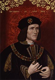 King Richard III, late 16th c by Unknown Master | Giclée Canvas Print