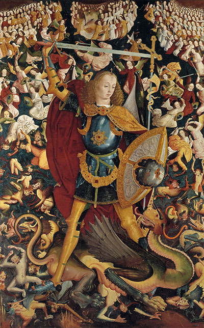 The Archangel Saint Michael, c.1495   Unknown Master   Painting Reproduction