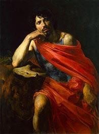 Valentin de Boulogne | Samson, c.1630 | Giclée Canvas Print