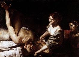Valentin de Boulogne | Judith Beheading Holofernes | Giclée Canvas Print