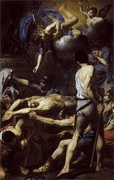 Valentin de Boulogne | Martyrdom of St. Processus and St. Martinian, c.1629/30 | Giclée Canvas Print