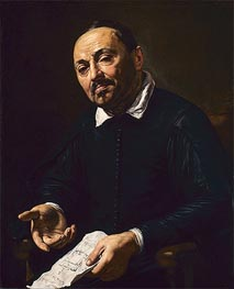 Valentin de Boulogne | Rafaello Menicucci, c.1630/32 | Giclée Canvas Print