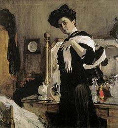 Valentin Serov | Portrait of Henrietta Girshman, 1907 | Giclée Canvas Print
