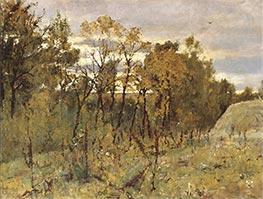 Autumn Evening. Domotkanovo, 1886 by Valentin Serov | Giclée Canvas Print