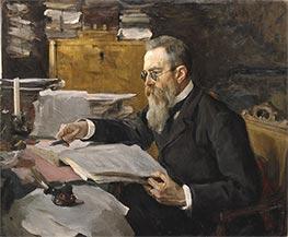 Portrait of the Composer Rimsky-Korsakov, 1898 by Valentin Serov | Giclée Canvas Print