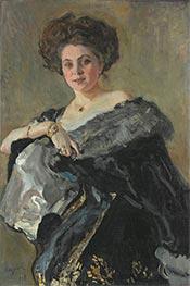 Portrait of Evdokia Sergeevna Morozova, 1908 by Valentin Serov | Giclée Canvas Print