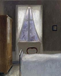 Hammershoi | Interior, 1890 | Giclée Canvas Print