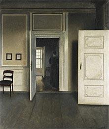 Hammershoi | Interior. Strandgade 30, 1901 | Giclée Canvas Print