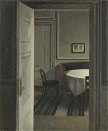 Hammershoi | Interior. Strandgade 30, 1904 | Giclée Canvas Print