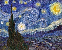 Vincent van Gogh | Starry Night, 1889 by | Giclée Canvas Print