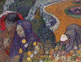 Vincent van Gogh | Memory of the Garden at Etten (Women of Arles) | Giclée Canvas Print