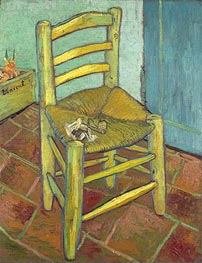 Vincent van Gogh | Vincent's Chair with His Pipe | Giclée Canvas Print