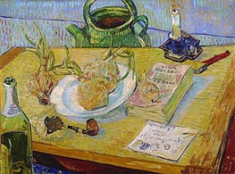 Vincent van Gogh | Still Life with a Plate of Onions | Giclée Canvas Print