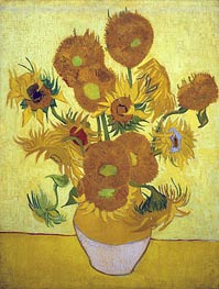Vincent van Gogh | Still Life: Vase with Fourteen Sunflowers | Giclée Canvas Print