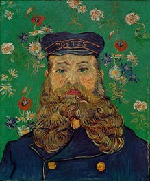 Vincent van Gogh   Portrait of the Postman Joseph Roulin   Giclée Canvas Print