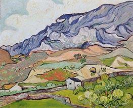 Vincent van Gogh   Les Alpilles, Mountainous Landscape, Saint-Remy, 1889   Giclée Canvas Print