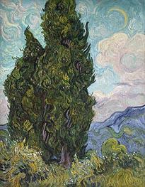 Vincent van Gogh | Cypresses, 1889 | Giclée Canvas Print