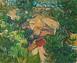 Vincent van Gogh | Entrance to a Quarry, 1889 | Giclée Canvas Print