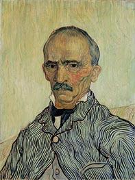 Vincent van Gogh | Portrait of Superintendant Trabuc in St. Paul's Hospital, 1889 | Giclée Canvas Print