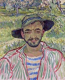 Vincent van Gogh | Portrait of a Young Peasant, 1889 | Giclée Canvas Print