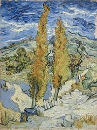 Vincent van Gogh | The Poplars at Saint-Remy | Giclée Canvas Print