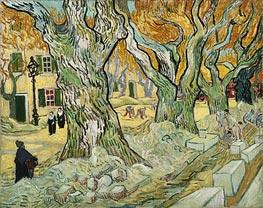 Vincent van Gogh | The Road Menders, 1889 | Giclée Canvas Print