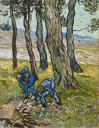 Vincent van Gogh | The Diggers (Les Becheurs), 1889 | Giclée Canvas Print