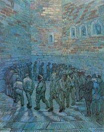 Vincent van Gogh | Prisoners Exercising (after Dore), 1890 | Giclée Canvas Print