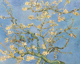 Vincent van Gogh | Blossoming Almond Tree, 1890 | Giclée Canvas Print