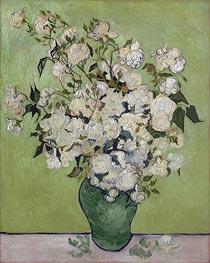 Vincent van Gogh | Vase of Roses, 1890 | Giclée Canvas Print