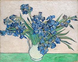 Vincent van Gogh | Still Life - Vase with Irises, 1890 | Giclée Canvas Print