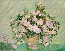 Vincent van Gogh | Roses, 1890 | Giclée Canvas Print