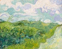 Vincent van Gogh | Green Wheat Fields, May 1890 | Giclée Canvas Print