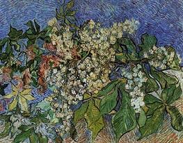 Vincent van Gogh | Blossoming Chestnut Branches, 1890 | Giclée Canvas Print