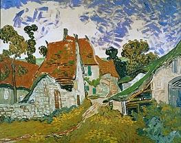 Vincent van Gogh | Village Street in Auvers, 1890 | Giclée Canvas Print