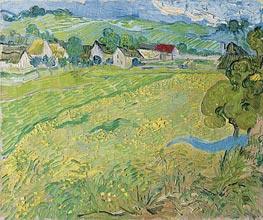 Vincent van Gogh | View of Vessenots Near Auvers, 1890 | Giclée Canvas Print