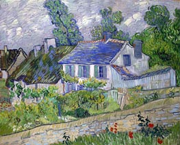Vincent van Gogh | House in Auvers, 1890 | Giclée Canvas Print