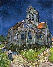 Vincent van Gogh | The Church at Auvers-sur-Oise, 1890 | Giclée Canvas Print