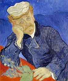 Vincent van Gogh | Portrait of Doctor Gachet, 1890 | Giclée Canvas Print