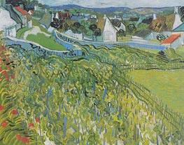 Vincent van Gogh | Vineyards with a View of Auvers, 1890 | Giclée Canvas Print