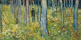 Vincent van Gogh | Undergrowth with Two Figures, 1890 | Giclée Canvas Print
